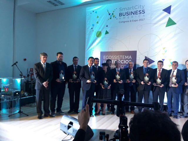 Aquidauana recebe Prêmio InovaCidade em Curitiba