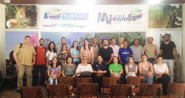 Equipe da Fundação de Turismo de Aquidauana participa de Fórum Regional do Pantanal