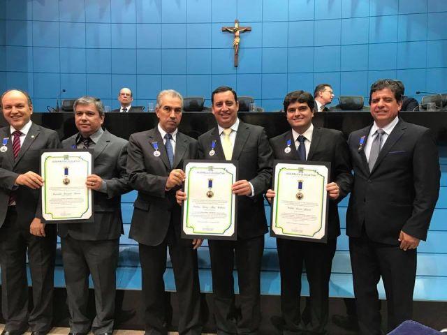Prefeito de Aquidauana é homenageado com Comenda Pedro José Rufino