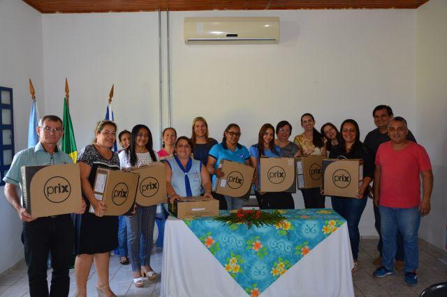 Unidades de ensino da zona urbana recebem balanças para conferência da alimentação escolar