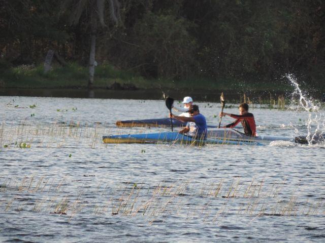 Resultado Final das provas de Vôlei,Canoagem e Mountain Bike na Lagoa Comprida